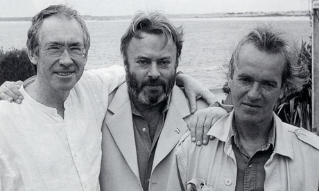 Christopher Hitchenswith Martin Amis and Ian McEwan