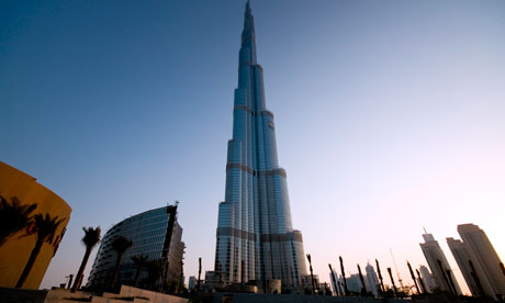 Burj Dubai the worlds tallest building