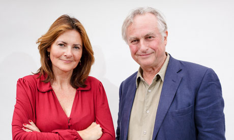 Cristina Odone and Richard Dawkins