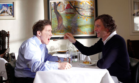 Rob Brydon (left) and Steve Coogan in The Trip