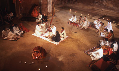 Peter Brook's Mahabharata at the Bouffes du Nord in Paris in 1987