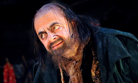 Rowan Atkinson as Fagin in Oliver!, Theatre Royal Drury Lane