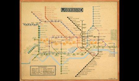 London Underground original map 1931