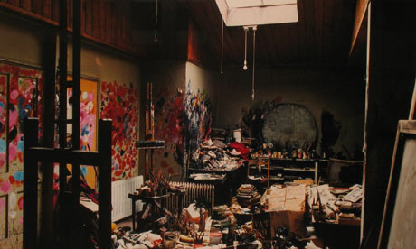 Francis Bacon's Studio by Perry Ogden