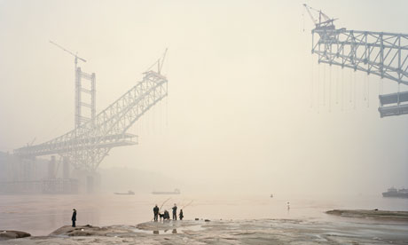 Bridge over troubled water ... Chongqing XI, 2007, Nadav Kander Yangtze - The Long River.