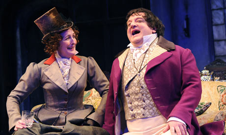 Lady Gay Spanker and Sir Harcourt Courtly from London Assurance
