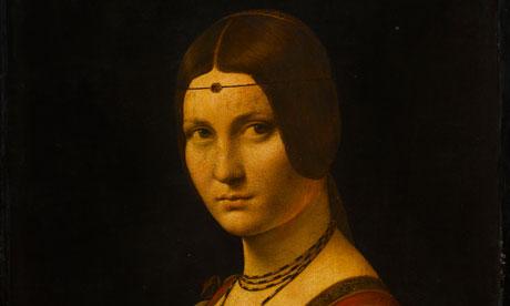 La Belle Ferronnière, c.1493-4, by Leonardo da Vinci