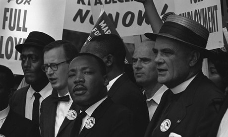 Martin Luther King at the 1963 March on Washington