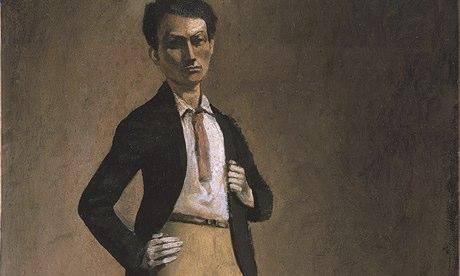 Balthus self-portrait
