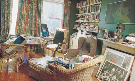 Writers' rooms: Michael Holroyd