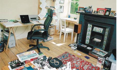 Writers' rooms: Ian Rankin