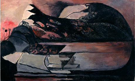 Graham Sutherland painting from The Dark Monarch exhibition