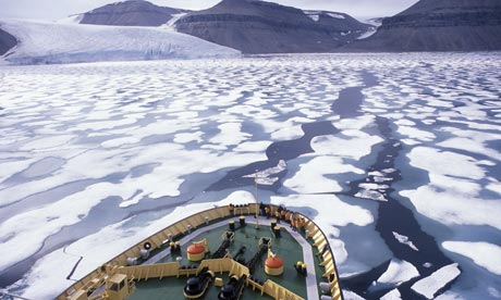 Arctic exploring ship reaches the Northwest Passage
