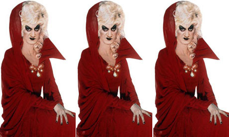 Lily Savage as the Wicked Queen