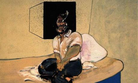 Francis Bacon's Study for Self-Portrait