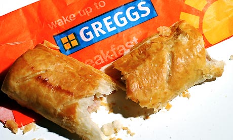 A greggs sausage roll
