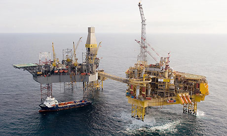 Total's Elgin oil and gas platform