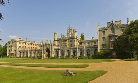 St John's College, Cambridge university
