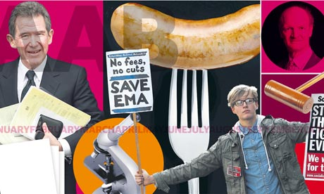 A year that saw higher education move to 'the heart of a fiercely contested new politics'