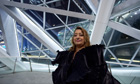 Architect Zaha Hadid at her Guangzhou Opera House