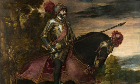 portrait of charles v of spain
