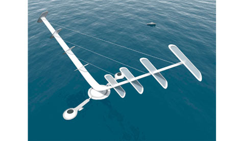 Offshore Aerogenerator NOVA (Novel Offshore Vertical Axis) wind turbine