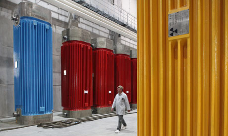 Damian in Germany : highly radioactive industrial waste from decomissioned nuclear power plants