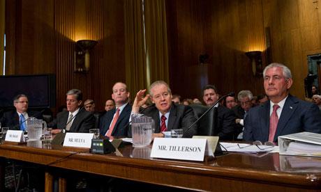 US oil and Energy major companies lobby in Washington against green policies ( lobbyist )