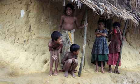 MDG : Bangladesh : global acute malnutrition (GAM) in Kutu plaong refugee camp near Myanmar border