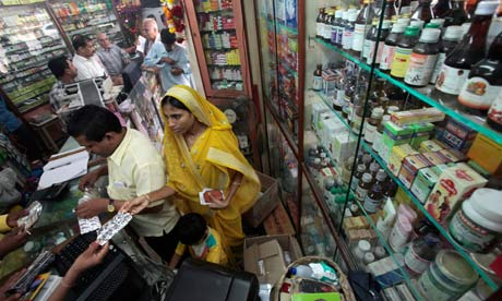 MDG : India : Generic drugs : Pharmacy In Mumbai