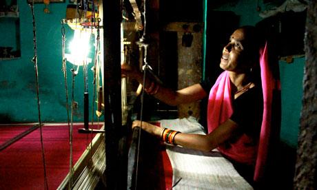 MDG : Energy NGO Teri, India's leading energy research institute solar LED lanterns
