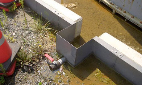 leaked from a water tank at TEPCO's Fukushima dai-ichi nuclear power plan