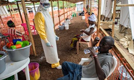 MDG : MSF Ebola Treatment Centre in Kailahun. Sierra Leone