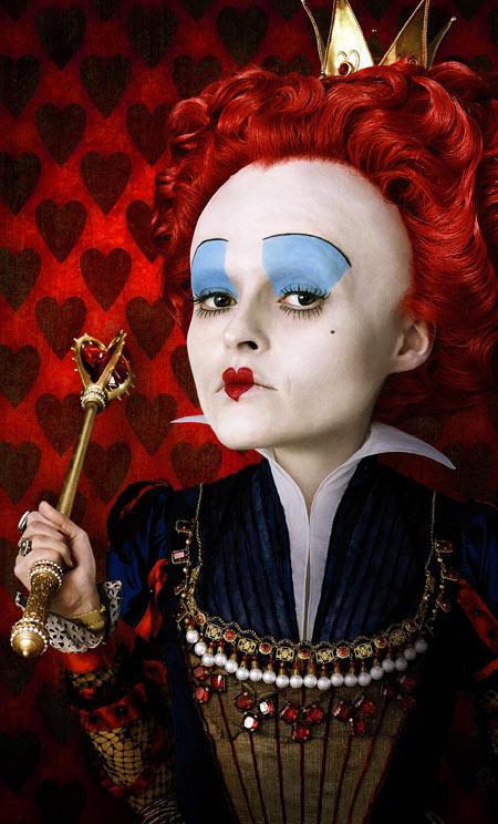 Tim Burton's Alice in Wonderland - concept art. Helena Bonham Carter as the Red Queen