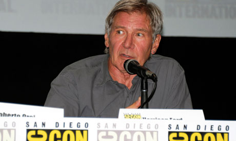 Comic-Con: Harrison Ford at the Ender's Game panel