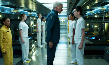 Comic-Con: Harrison Ford and Asa Butterfield in Ender's Game