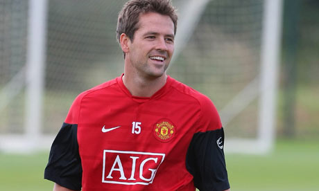Michael Owen in a new shade of Red.
