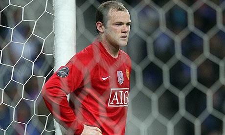 Wayne Rooney Manchester United Everton football