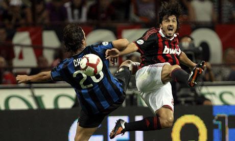 Milan Midfielder Gennaro Gattuso Takes Fight To Inter ...