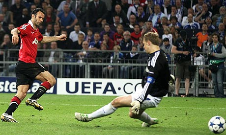 ryan giggs' goal at schalke