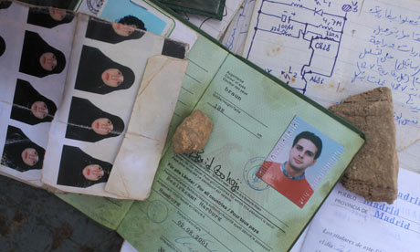 Passports of al-Qaida suspects