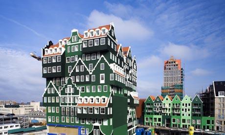 amsterdam, dutch architecture, WAM architects