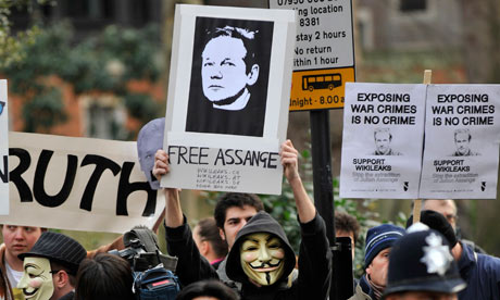 WIkiLeaks Juilan Assange In Court