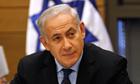 Israel's Prime Minister Binyamin Netanyahu at the Knesse