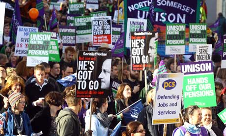 Public sector workers strike