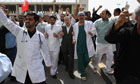 Police Clear Anti-Government Protesters In Bahrain
