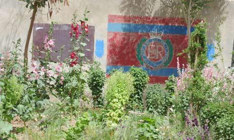 The gardens of Lashkar Gah. Picture: Sergeant Alison Baskerville, Crown Copyright/MOD 2011