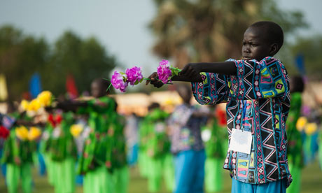 MDG : South Sudan independence celebrations