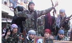 Members of the Free Syrian Army in Idlib