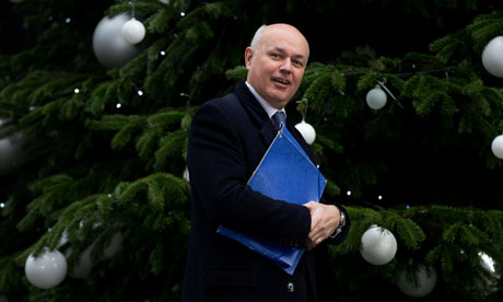 Iain Duncan Smith as Scrooge